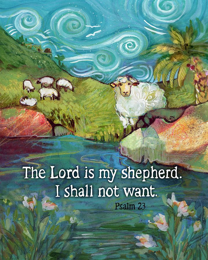 The Lord Is My Shepherd   Mexican art to buy?   Lord is my shepherd