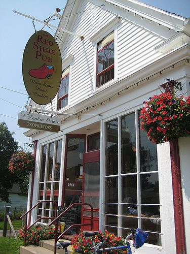 Red Shoe Pub, Mabou, Cape Breton Owned by the Rankin family :) Drop in for an ale....