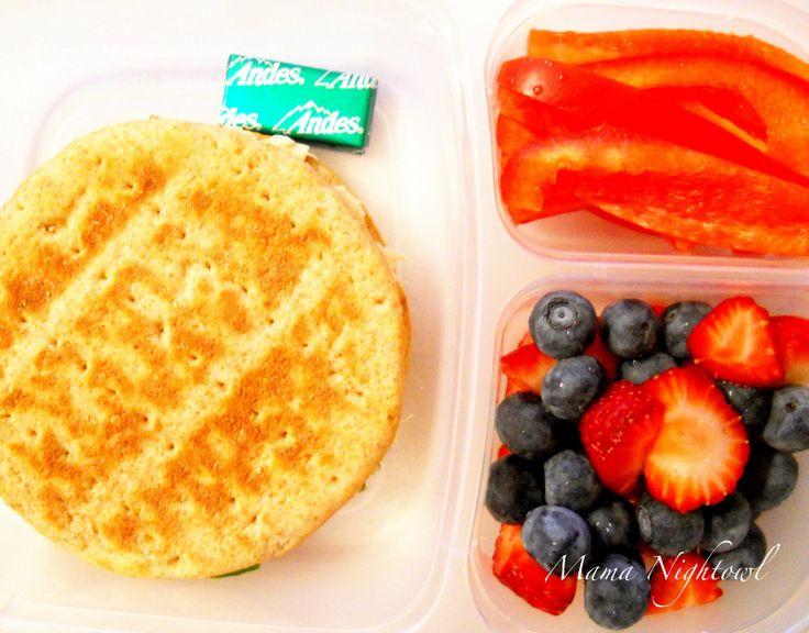 Mama Brightowl: A 300 Calorie Lunch