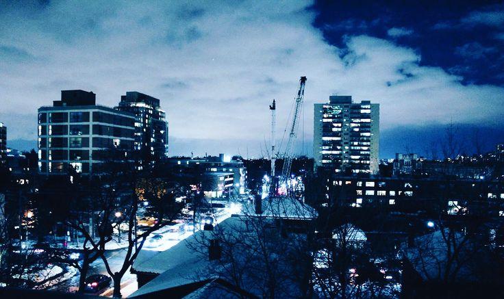 #apartment #toronto #blue #skyline #city #nightviews #photography