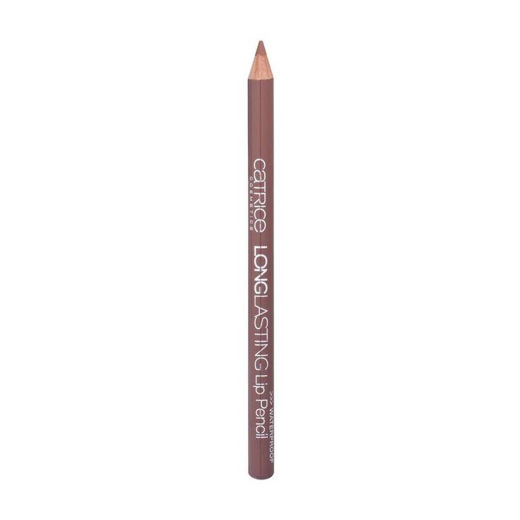 Catrice Longlasting Lippotlood in  020 Hey Macadamia Ahey! = MAC Lip Pencil in Stripdown