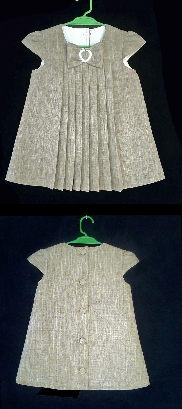 Vestido de Pregas 18meses-Pleats Dress 18 months................ Molde grátis - Free Pattern ------------ https://www.facebook.com/groups/1594730384185604/    ------------   RLevyFile-VestidoDePregas18m-PleatsDress18mo