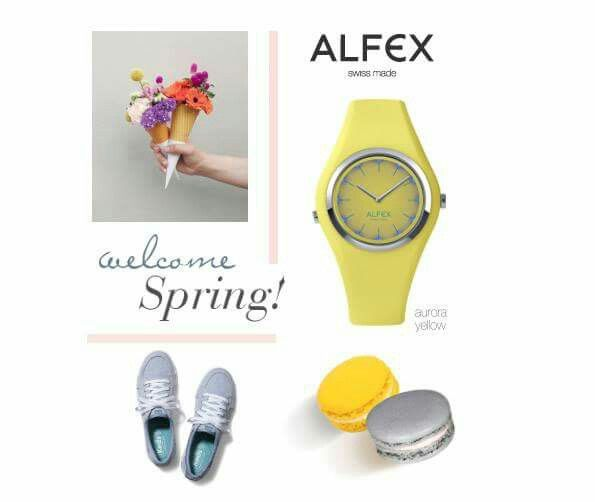 Welcome Spring : yellow like the