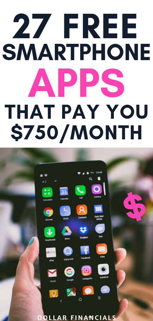 27 Best Phone Apps To Make Money: Earn Extra Cash  – Dollar Financials | Make Money Online, Save Money and Personal Finance Tips