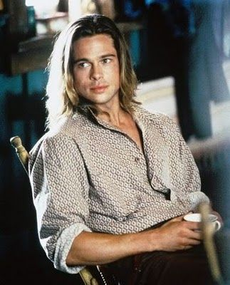Brad Pitt in his Legends of the Fall days = his all time sexiest