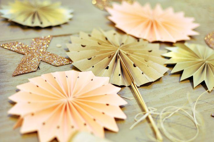 DIY: Paper Fans | Smitten On Paper