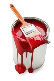 Pintura roja.