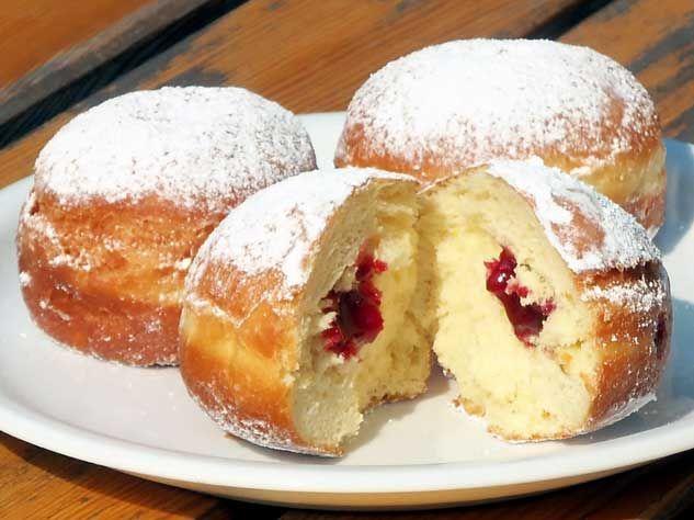 berliner pfannkuchen rezept donuts pinterest food. Black Bedroom Furniture Sets. Home Design Ideas