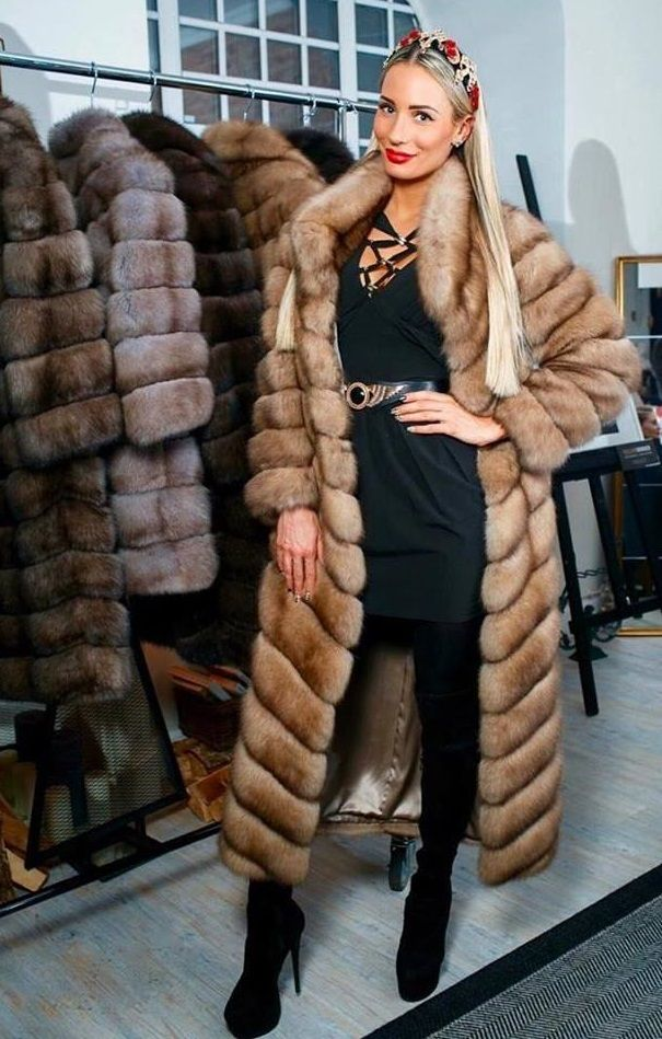 312 Best Fur Heaven Images On Pinterest Fur Furs And Coats