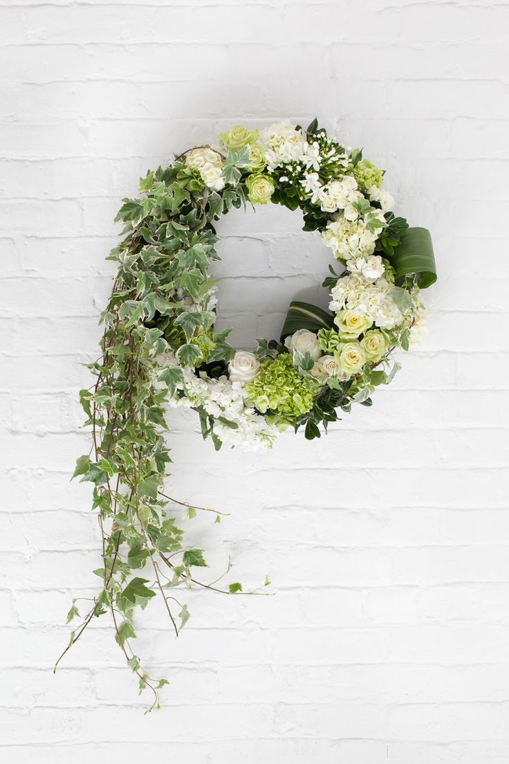 7 best sympathy flowers images on pinterest sympathy flowers eternal wreath send your condolences to the services with this elegant piece izmirmasajfo