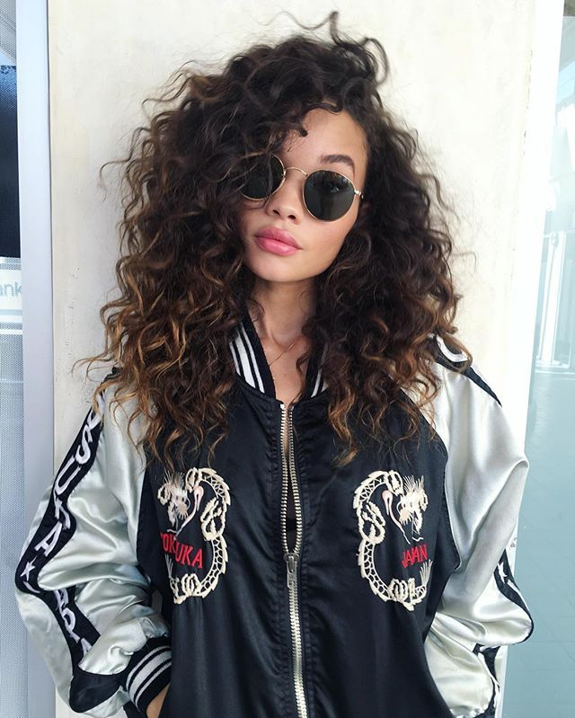 Curly Hairstyles African American 2017