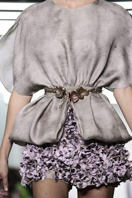 Giambattista Valli Ready To Wear Spring Summer 2014 Paris - NOWFASHION
