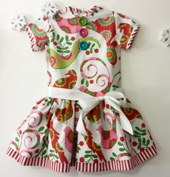 Check out this item in my Etsy shop https://www.etsy.com/listing/211694190/little-girls-dress-christmas-toddler