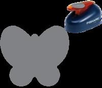 Une perforatrice papillon, idéale pour la carterie créative pour les créations printanières #perforatrice #rond #scrapbooking #punch