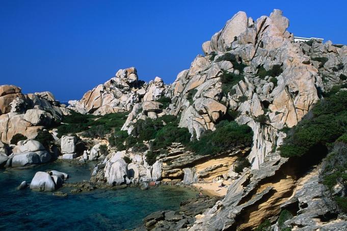 The spectacular rocky coast of Capo Testa, near Santa Teresa di Gallura.