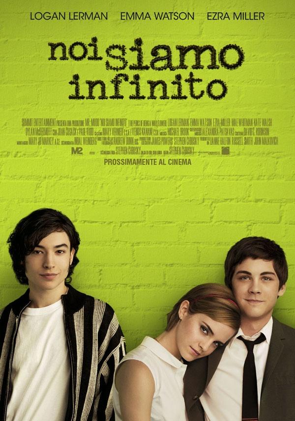 Noi siamo infinito.  Un mix di amore, dolore e drammi adolescenziali nell'adattamento cinematografico del romanzo The Perks of Being a Wallflower di Stephen Chobsky