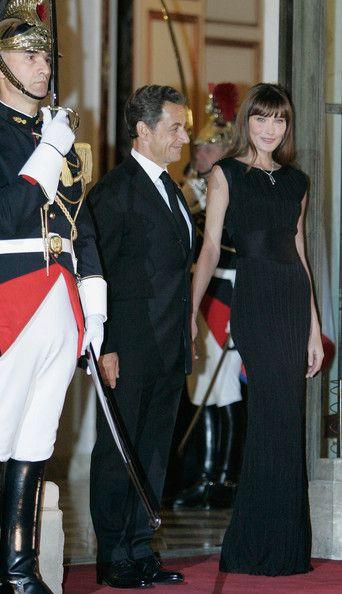 Carla Bruni and Nicholas Sarkozy