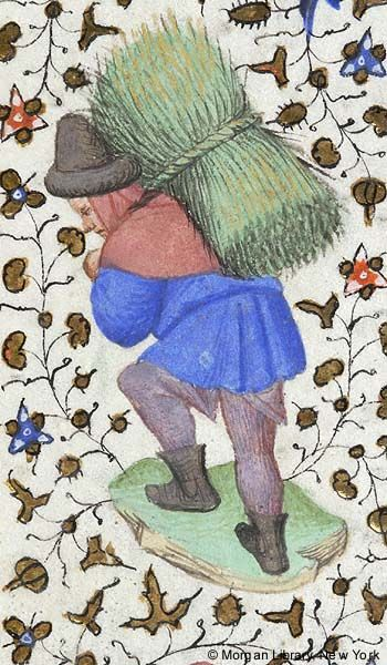 Book of Hours, MS M.453 fol. 6v - Images from Medieval and Renaissance Manuscripts - The Morgan Library & Museum