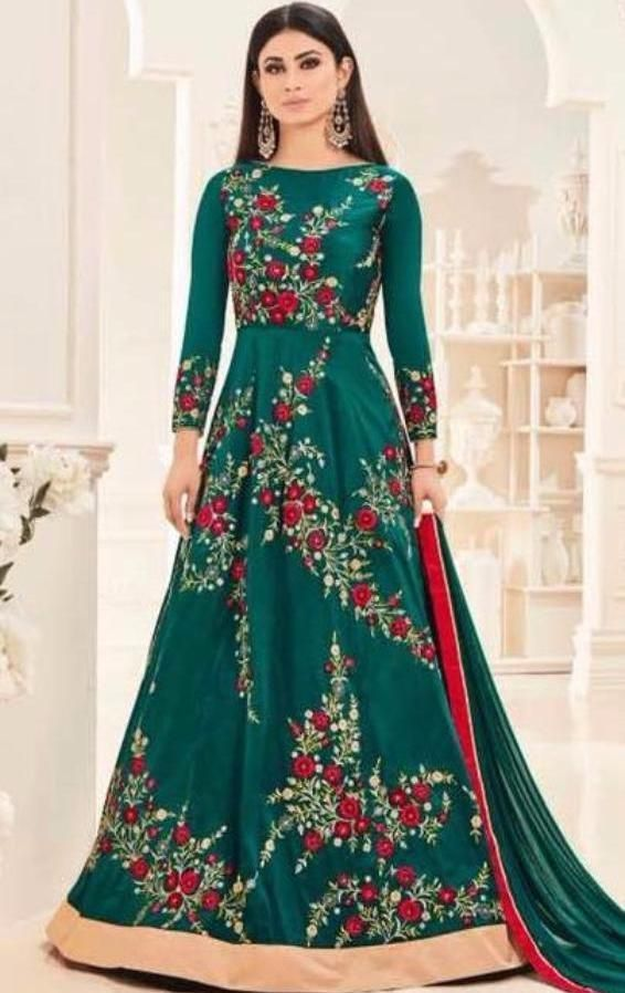 Sajawat Anarkali Suit #rongberongboutique #ethnicwear #indianwear #desifashion #indianlook #banglafashion #bengaliwear #partywear #partysuit #pakistanistyle #pakistan #pakistanifashion  #wedingcollection #indiandress #fashion #anarkalisuit #anarkali # salwar #salwarsuit #churidar #salwar #salwarsuit #salwarkameez