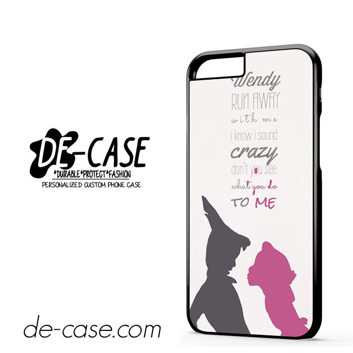 Peter Pan And Wendy DEAL-8551 Apple Phonecase Cover For Iphone 6 / 6S