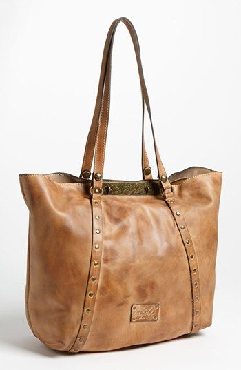 This is such an amazing tote!  Love the distressed look.