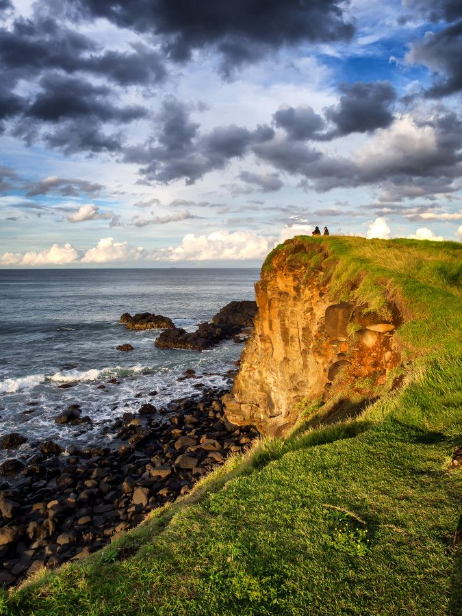 """500px / Photo """"The Couple"""" A small cliff that overlooks Boulders Bay Ballina NSW , Australia."""