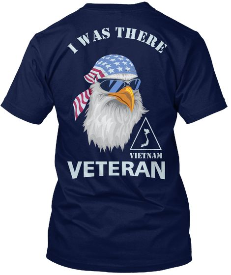 Vietnam Veteran, I Was There Navy Kaos Back