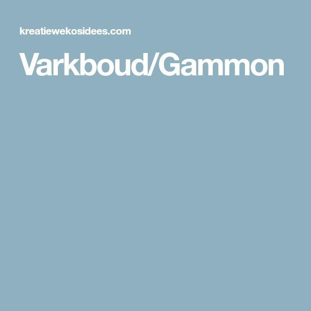 Varkboud/Gammon