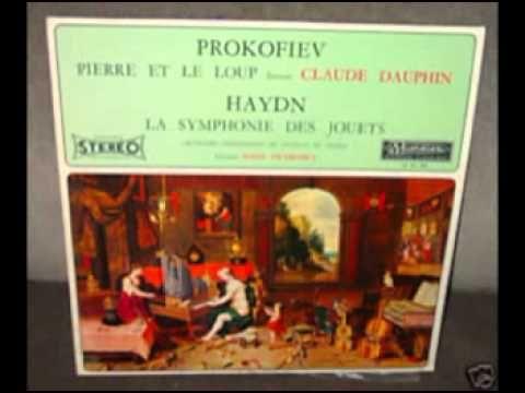 pierre et le loup de serge prokofiev raconté par le comedien claude dauphin - YouTube