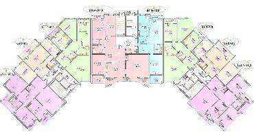 Типовой этаж ЖК Эдельвейс