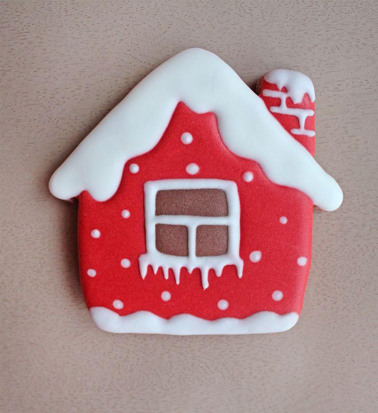 Новый год Рождество Пряник имбирный домик, дом
