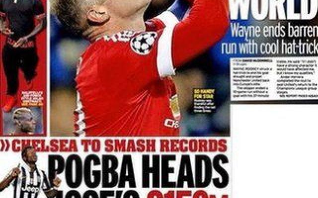 Juventus, la bomba del Mirror di oggi: Mourinho offre 95 milioni per Pogba. Sarebbe da FUORI DI TESTA non accetarli! Il Daily Mirror in edicola oggi ne è certo: il Chelsea tenterà un nuovo assalto a Paul Pogba in queste ore. Per convincere la Juventus, si legge, Mourinho sarebbe pronto a mettere sul piatto 95 milio #pogba #chelsea #juventus #calciomercato