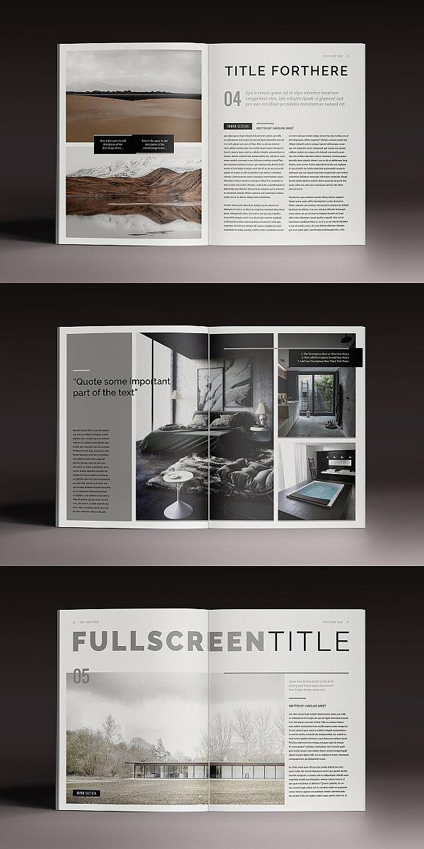 30 Top Notch Magazine Templates For Adobe Indesign Indesign Layout Page Layout Design Magazine Layout Inspiration