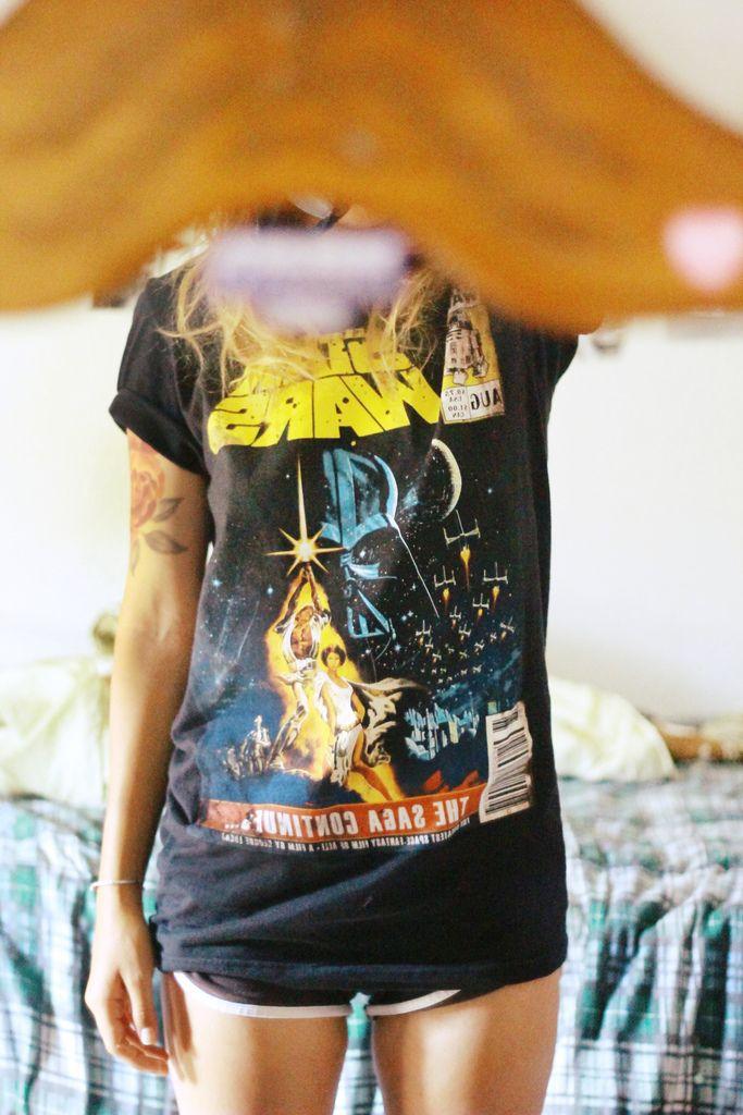Star Wars vintage tee...die.