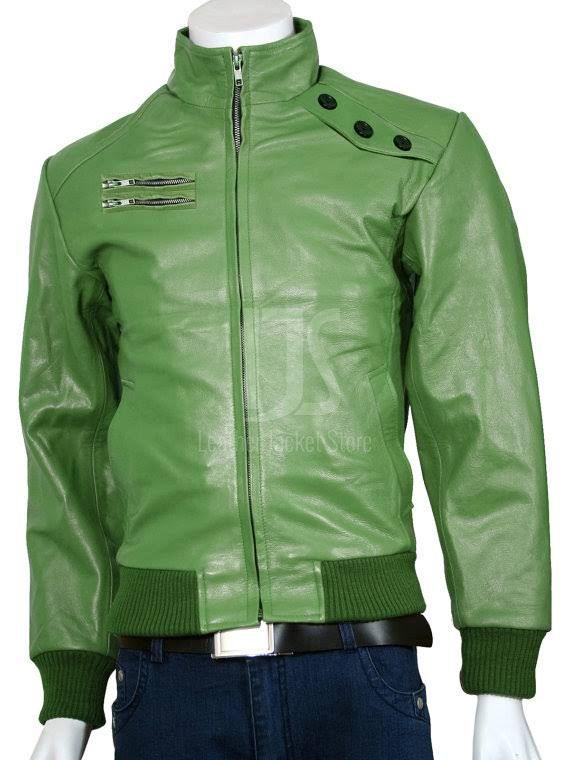 Green Jacket Men