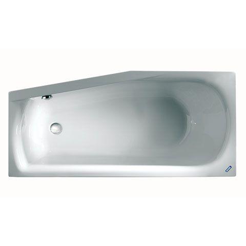 Duscholux SMART-line Kleinraum Badewanne weiß