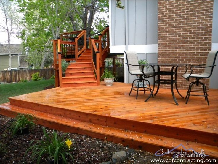 Wood deck ideas pictures wood decks colorado deck and for Wood deck designs pictures