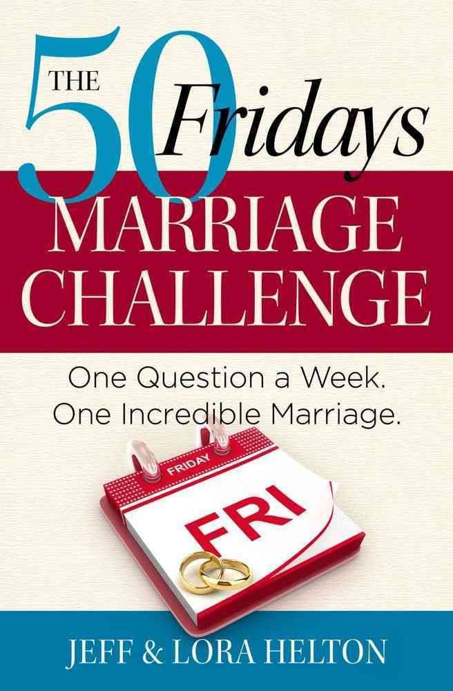 Transform your marriage with this revitalizing relationship guide that challenges couples to answer important questions together and grow in mutual understanding. In our modern, fast-paced society, it
