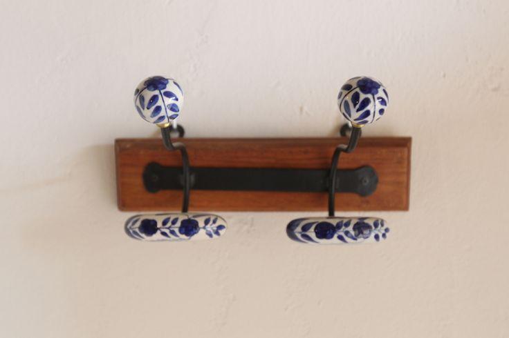 Colgadores de cerámica