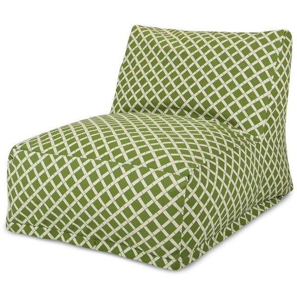 Dot & Bo Tropical Bean Bag Chair Lounger ($120) ❤ liked on Polyvore featuring home, outdoors, patio furniture, outdoor loungers & day beds, tropical outdoor furniture, outdoor chaise lounge chair, outside patio furniture, outside chaise lounge and outdoor furniture