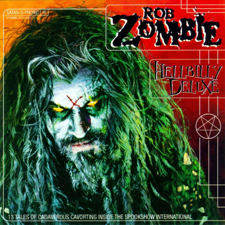 throwback to debut of first robzombie solo album hellbillydeluxe - Rob Zombie Halloween Music