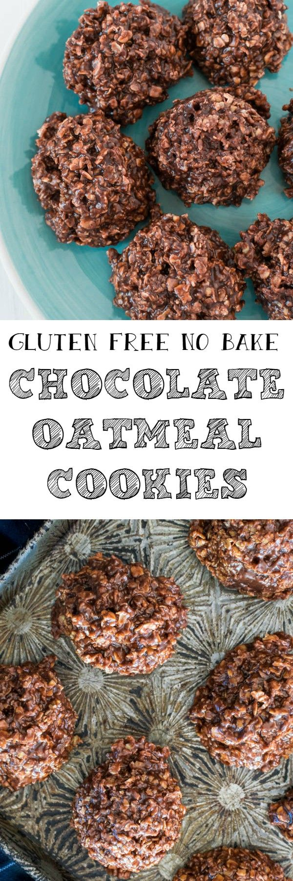 These No Bake Chocolate Oatmeal Cookies are perfect for when you have a sweet tooth that needs satisfying immediately. It's also a great first recipe for getting kids involved in the kitchen, since you don't even have to turn on the stove.