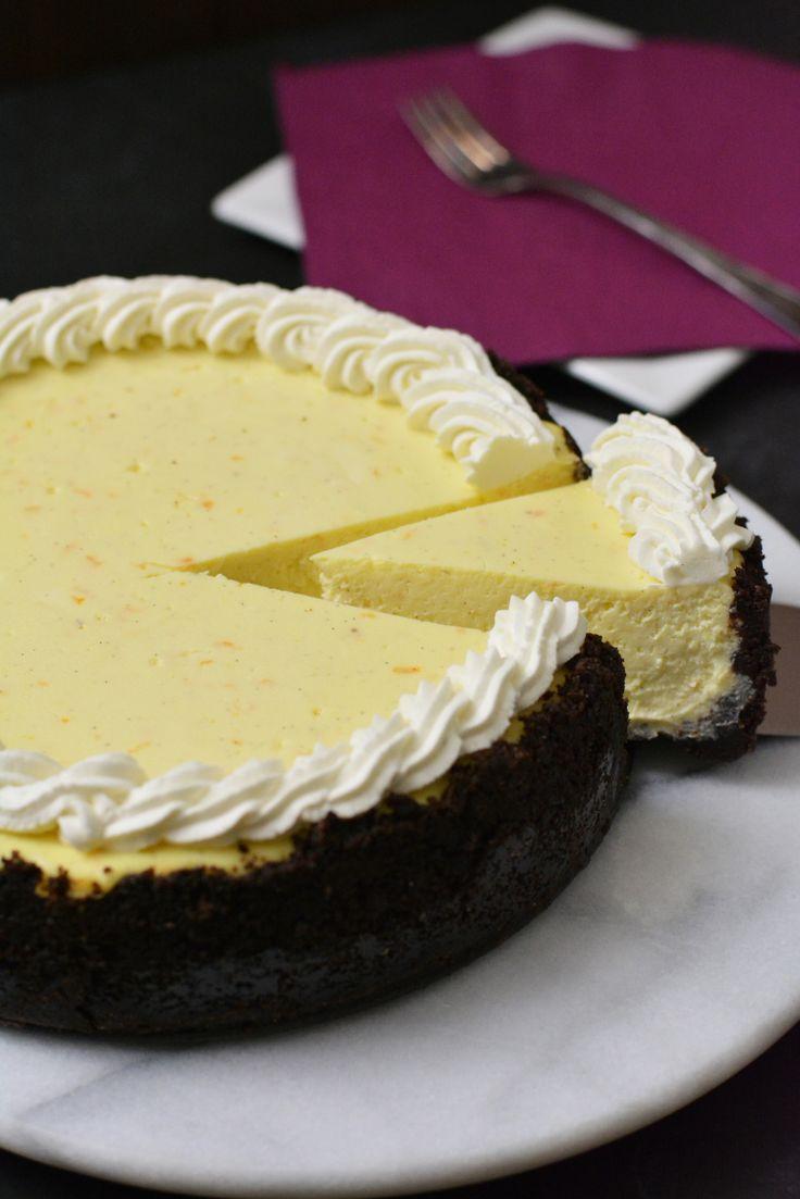 Ricotta Cheesecake with Chocolate Cookie Crust