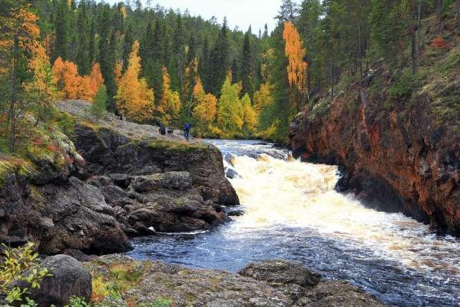 Oulanka, Finlândia: este parque nacional cobre 270 quilômetros quadrados da região da Lapônia, próximo à fronteira com a Rússia. Fundado em 1956, a área é conhecida por abrigar milhares de renas e plantas raras. A Karhunkierros, que atravessa 80 quilômetros de sua extensão, é a trilha mais popular do país.  Shutterstock