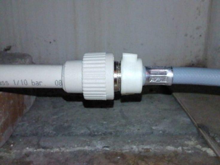 Качественное соединение трубопровода