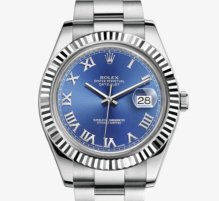 Rolex Datejust II Watch - Rolex Timeless Luxury Watches ...