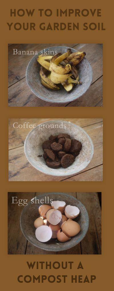 **Soil garden hacks** No compost heap? No problem. Photo: Pinterest: [object Object]