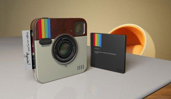 Socialmatic, l'appareil photo ultime d'Instagram ?: Concept Instagram, Real Life, Instagram Socialmat, Camera Polaroid, Geek Life, Camera Concept, Instagram Camera, Socialmat Camera, Gadgets Geek