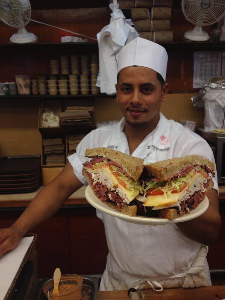 Katz's Delicatessen #nyc #restaurant #accorcityguide The nearest Accor hotel : Sofitel New York