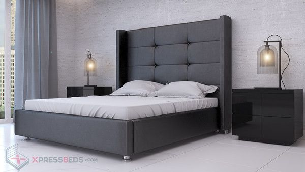 victoria bed black huge super tall headboard bed great
